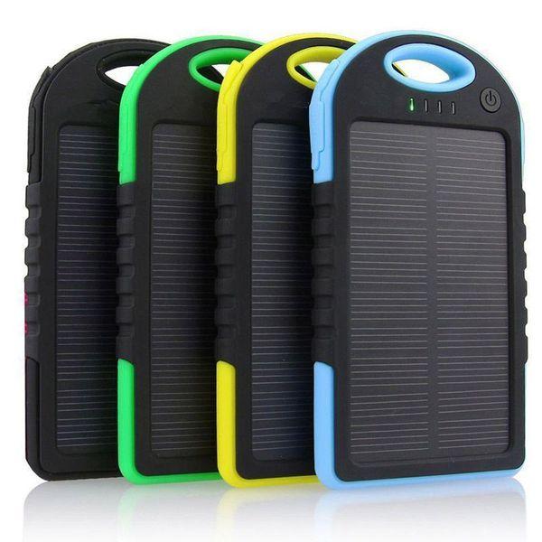 5000MAH USB External Backup Solar Power Bank Mobile Phone Parts Cell Phone  Parts From Yuandongyuhang888, $1004 03| DHgate Com