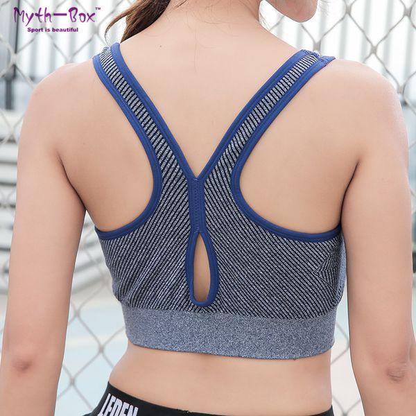 Anti-sagging Sports Bra Hot hi 2019 Fashion Woman Seamless Sports Yoga Bras