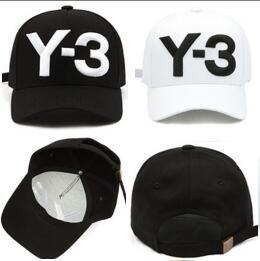 Luxury Y-3 Wholesale baseball caps 100% Cotton brand hat Embroidery hats for men 6 panel Black snapback cap men Casquette visor gorras bone