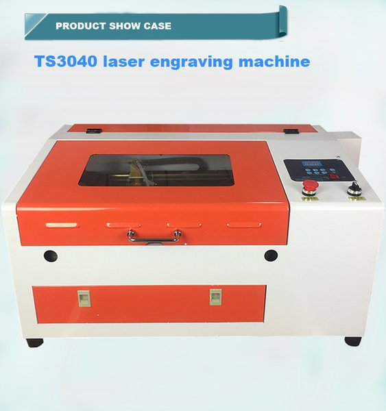 50w co2 laser engraving cutting machine mini crafts laser engraver price 4030 small laser cutter 3040 with electrical up and down table