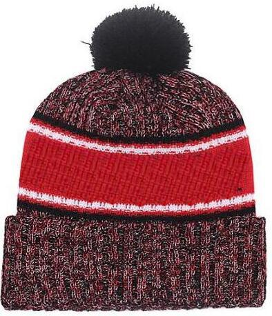 Hot sale Beanie All Teams Logo Sideline Cold Weather Graphite Official Revers Sport Knit Hat winter Warm Knitted Wool Falcons Skull Cap