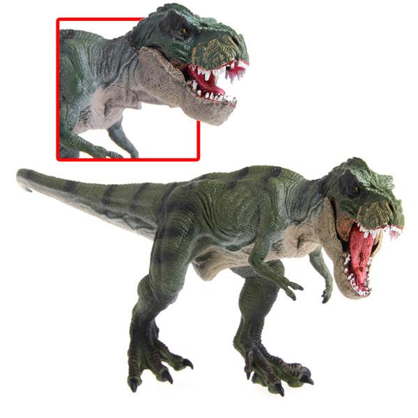 New Jurassic World Park Tyrannosaurus Rex Dinosaur Plastic Toy Model Kids Gifts Movies Video Game Cartoon