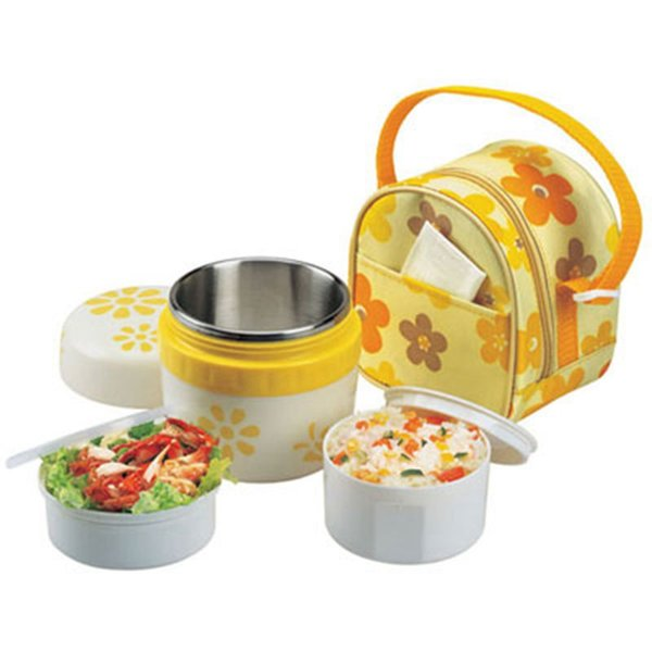 Hot Sale Stainless Steel Insulation Thermo Thermal Lunch Box Food Container Storage For Food With Containers For Kid