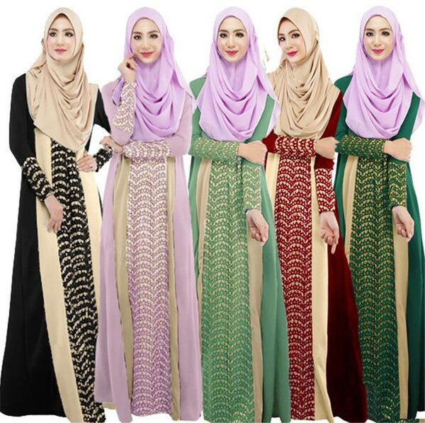 Абая турецкая женская одежда мусульманское платье Исламская одежда musulmane Jibabs платья Дубай кафтан vestidos длинные хиджаб одежда M288
