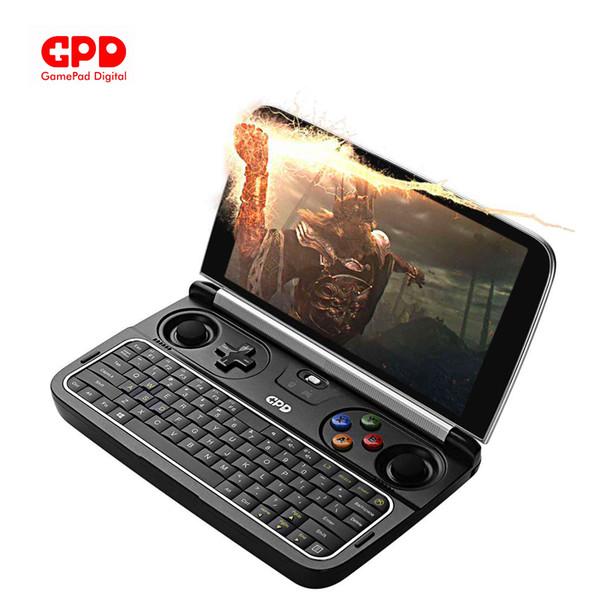 top popular New GPD Win 2 Intel Core m3-7Y30 Quad core 6.0 Inch GamePad Tablet Windows 10 8GB RAM 128GB ROM Pocket Mini PC Computer Laptop 2019