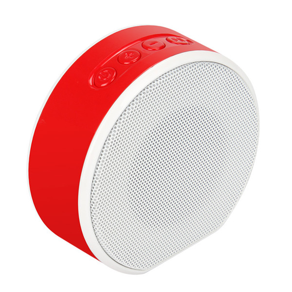Wireless mini Bluetooth speaker Portable support TF card AUX speakers FM radio pink gold Hands-free calll Portable Speaker with Mic Voice