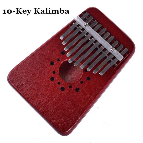 10 Key Kalimba African Thumb Piano Finger Percussion Keyboard Music Instruments Kids Toy Marimba Wood Karimba Child