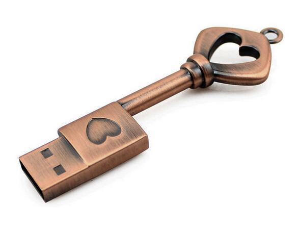 EginDisk Usb Flash Drive 8gb 16gb 32gb 64gb 4gb Gift Pen Drive Creative Usb Stick Metal Pendrive Heart-shaped Disk On Key