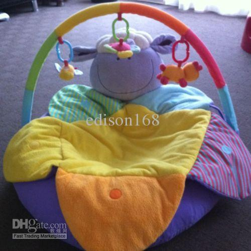 best selling New Blossom Farm Sit Me Up Cosy with PLAY BAR Early Learning Centre ELC Infant Inflatable Baby sofa children kid gift toy