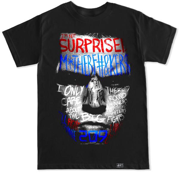 Nate Graffiti Diaz Ünlü Mma Conor Mcgregor Salonu Egzersiz Kaldırma Mücadele T Shirt T-shirt Erkekler adamın Dijital Doğrudan Baskı Kısa Kollu Özel