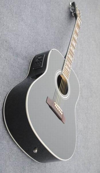 top popular Acoustic Electric Guitar Steel-String Balladry Folk Pop Thin Body Flattop 40 Inches Guitarra 6 String Cutaway Electro.Free shipping140815 2020
