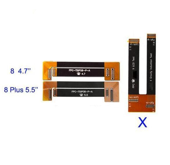 Yeni Yüksek Kalite LCD Ekran Testi Dokunmatik Ekran Uzatma Cihazı Flex Kablo iphone 8 8 Artı X