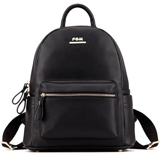 6b9f041aab 2018 Hot Sale Fashion women backpack small leather vintage bags ladies  Travel Black Backpacks design leather