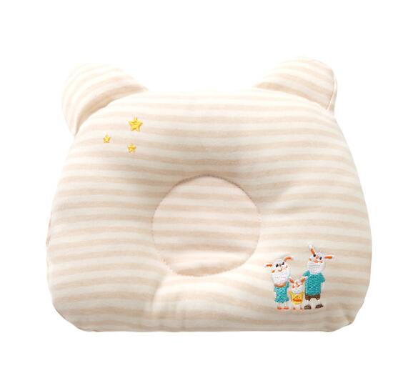 Baby-Kissen zu verhindern, flach Kopf Junge Kinder Kopf Hals Spine Schutzkissen Kopf Form Korrektur
