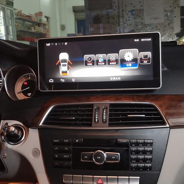 Android 5 1 Car Radio Gps Navigation Bluetooth Head Unit For Mercedes Benz  C Class 2011 2013 W204 C180 C200 C220 C250 C300 C350 C320 Amg63 Computer