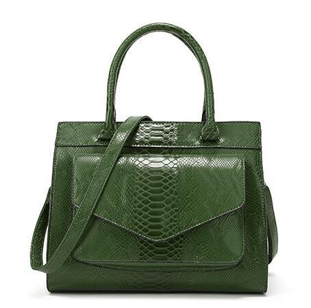 2018 nuevo bolso estilo serpiente, bolsos para damas de moda europea y americana, ambiente sencillo Bolso de un solo bolso Paquete de moda Joker