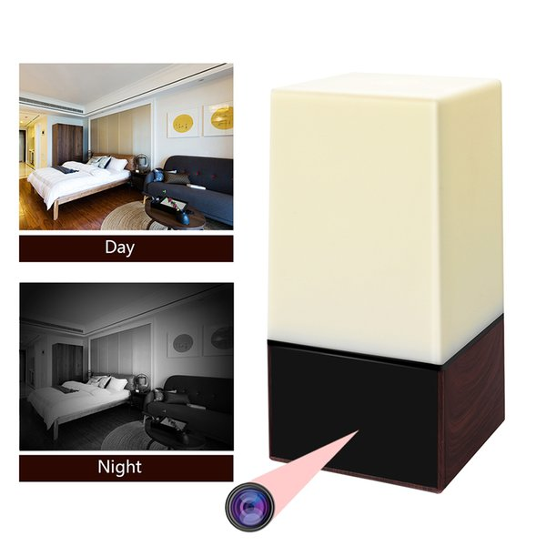 Wireless Security Camera HD 1080P WIFI Night Light IP Camera Home Surveillance with Remote View Motion Detection and Night Vision