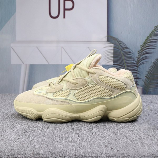 the best attitude 47f64 3e374 2019 Kanye West Yeezy 500 News Blush Desert Salt Utility Black Women  Designer Shoes Men Boost Sneakers Vmth Cool Shoes Naot Shoes From Aj350,  $56.5| ...