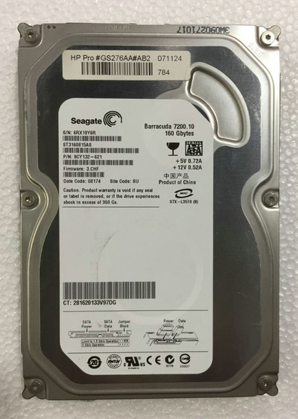 best selling 100% Tested Work Perfect for Original Seagate ST3160815AS 160G