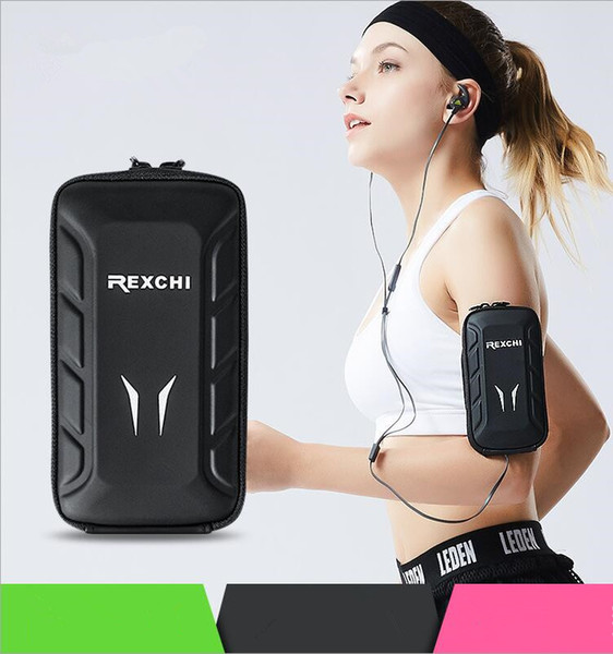 New sports arm bag Running mobile phone outdoor arm bag fitness equipment multi-function waterproof arm wrist bag