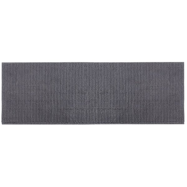 """Wholesale-Lifewit 63"""" x 19"""" Living Room Area Runner Rug With Non Slip Rubber Back Machine Washable Dark Grey"""