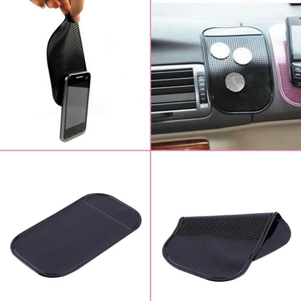New Black Car Pad Silicone Car Dashboard Sticky Pad Magic Anti-Slip Non-Slip Mat for iPod Phone MP4