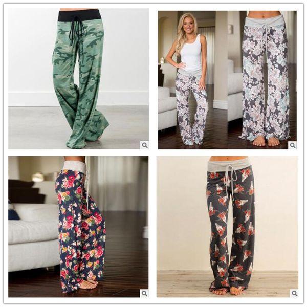 best selling 24 color Yoga Fitness Wide Leg Pant Women Casual Flare sports Pants Fashion Harem Pants Palazzo Capris Lady Trousers Slacks Loose Long pants