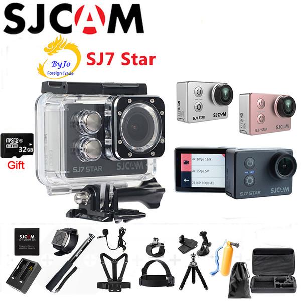 Original SJCAM SJ7 WIFI Star 4K Cámara de acción Ambarella A12S75 DV HD 2