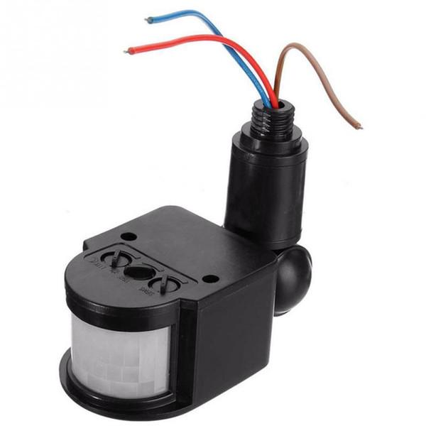 Outdoor 110-220V Infrared PIR Motion Sensor Detector Wall Light Switch Modern Smart Home Lighhing Switches