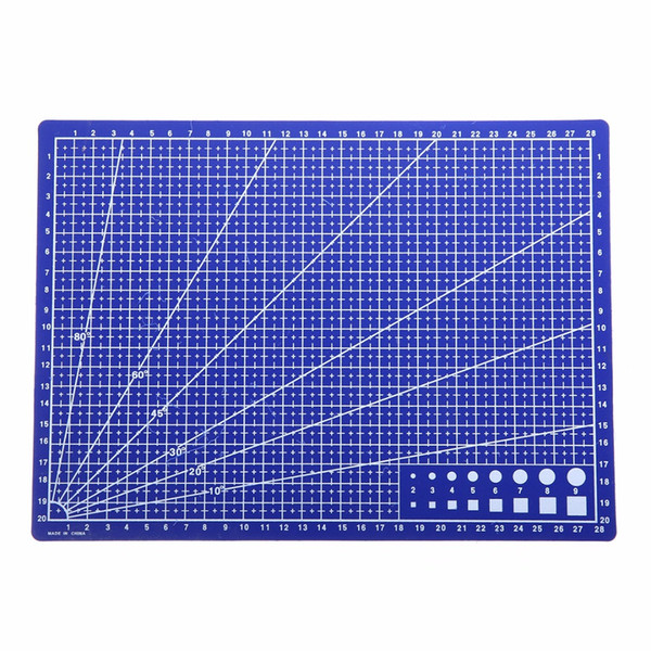 Linhas de Grade A4 Auto Cura de Corte Mat Craft Cartão De Couro De Papel Placa De Papel Para Fazer Modelo E Outros Empregos Precisos