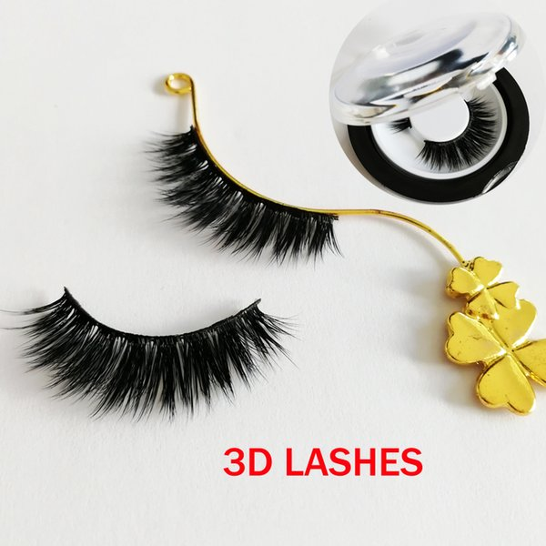high quality 3D faux Mink Hair Eyelashes Messy Sexy Eyelash Full Strip accept private label on stickers GR287
