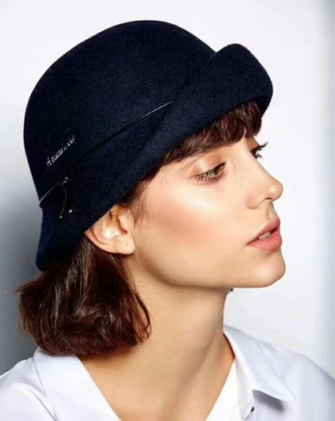 Reiner Wolle BERET weiblicher Winter japanischer Maler Hut Beret Hat kleine frische weibliche Allgleiches koreanische Winterflut