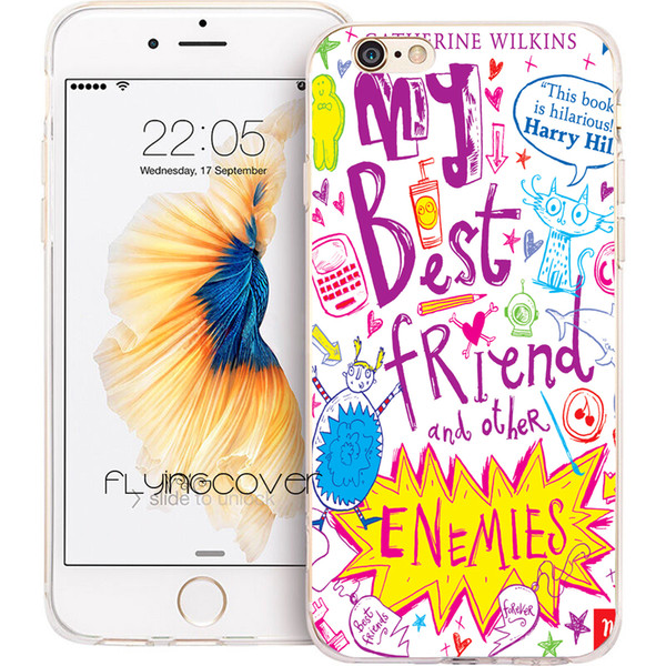 Fundas My Best Friend Claro cubierta de teléfono de silicona TPU para iPhone X 7 8 Plus 5S 5 SE 6 6S Plus 5C 4S 4 iPod Touch 6 5 casos.