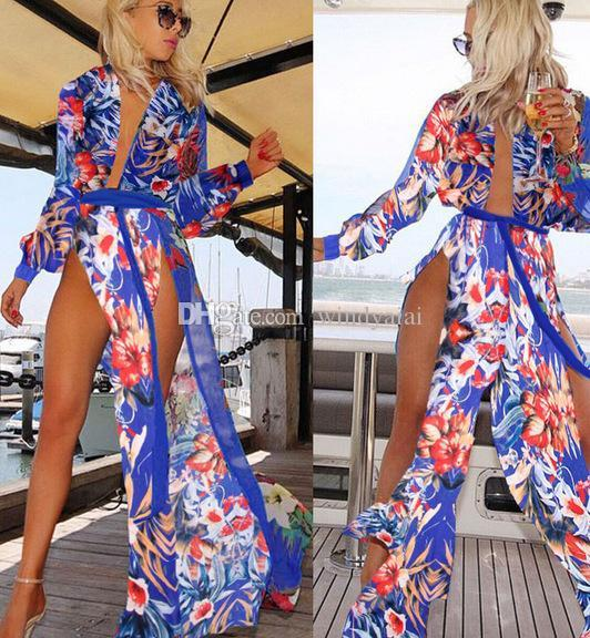 Sexy womens swimsuits beach cover up dresses for women plus size swimwear fat swimming wear women wholesale irregular bathing suit
