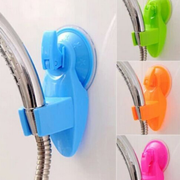 100PCS Portable Adjustable Home Bathroom Shower Head Holder Super Wall Vacuum Suction Cup Mount Tool Mix Color