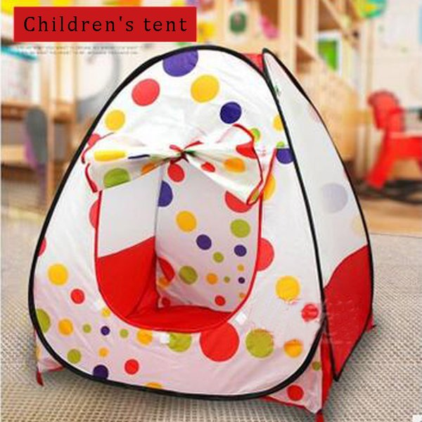 top popular Baby Playpens Safety Tents for Children's tent with Basketry Kids Play Tent Mesh Indoor Stress Ocean Ball Pool Play Yard 2019