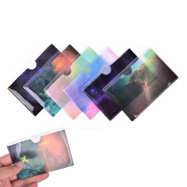11Colors Waterproof Pvc Id Credit Card Holder Plastic Card Protector Case To Protect Credit Cards Bank Cardholder Id Card Cover