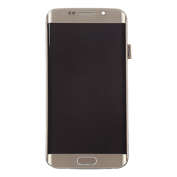 100% Tested AMOLED Phone LCDs For Samsung Galaxy S6 Edge G925F G925A G925P LCD Display Screen with Touch Digitizer Sticker