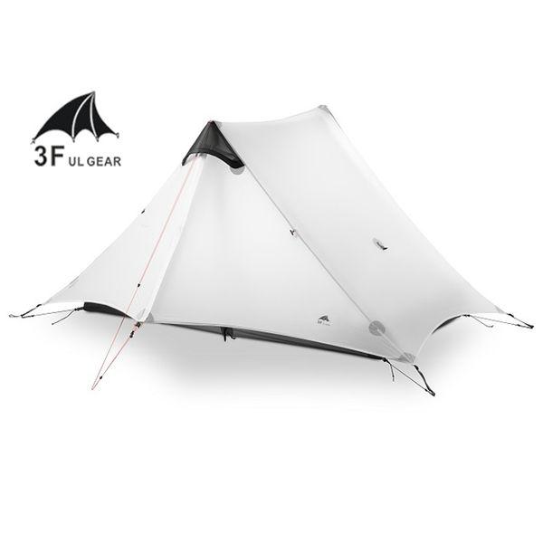 NEW 2018 LanShan 2 3F UL GEAR 2 Person Oudoor Ultralight Camping Tent 3 Season Professional 15D Silnylon Rodless Tent cheap new