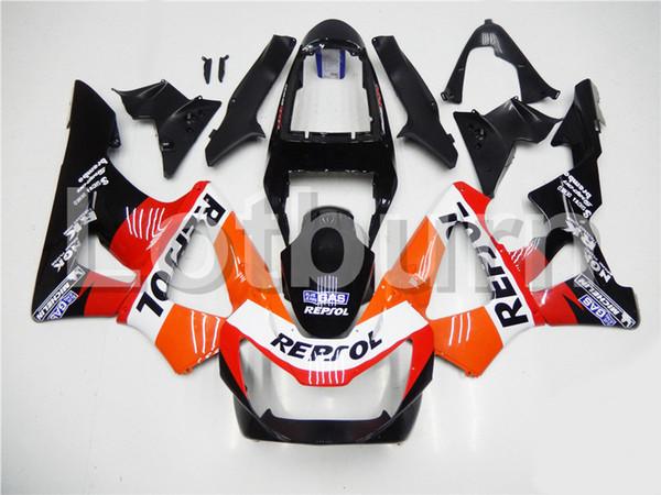 High Quality ABS Plastic Fit For Honda CBR 929 900 RR 929RR 00 01 900 2000 2001 CBR900RR Moto Custom Made Motorcycle Fairing Kit Bodywork