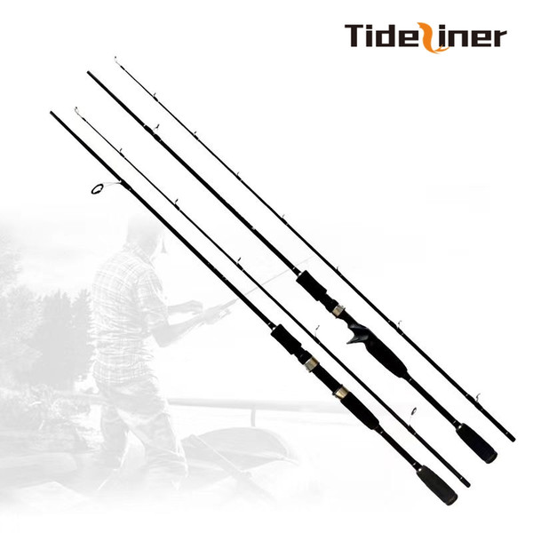Tideliner 1.8m spinning baitcasting fishing lure rod casting fishing pole lure weight 10-30g MH power high carbon fiber rod