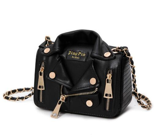 New Fashion European Hot Brand Designer Motorcycle Bags Women Clothing Shoulder Jacket Bags Messenger Bag Women PU Leather Handbags 120