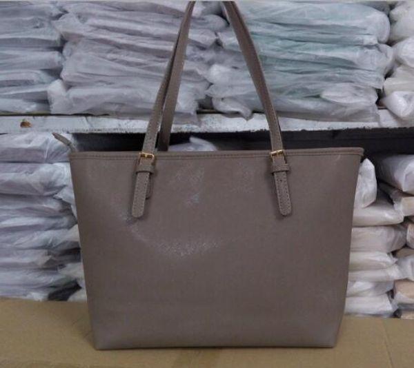 Marka bayanlar çanta basit moda çanta çapraz desen PU deri alışveriş çantası büyük omuz çantası