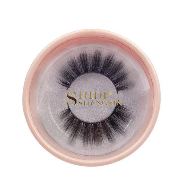 False Eyelashes 3D Mink Lashes Natural Long Fake Eye Lashes Private Label Eyelash For Makeup Extension Lash