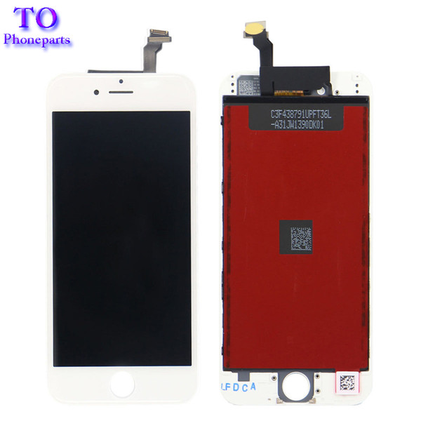 50PCS For iPhone 6 LCD Assembly Screen No Dead Pixel For iPhone 6 LCD Display with Touch Screen Digitizer Black White