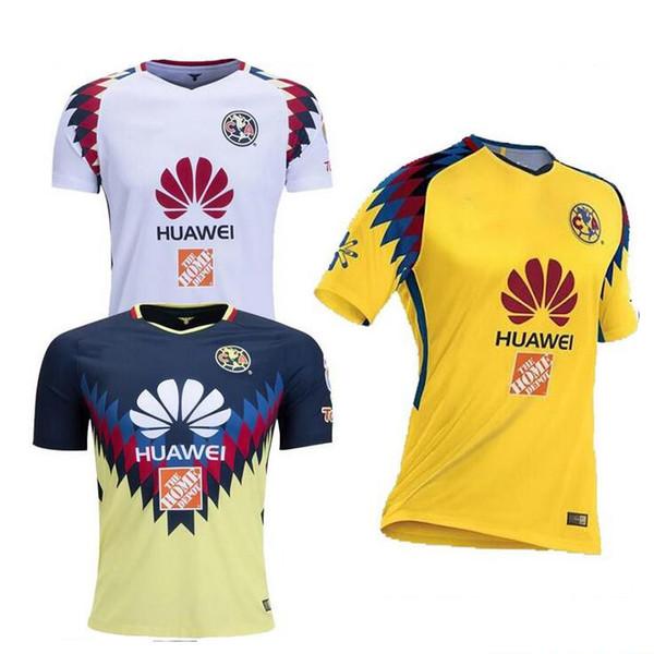 96298e412 TOP Quality 2016 2017 LIGA MX Club America soccer Jerseys home away Third  Black Centenario 17