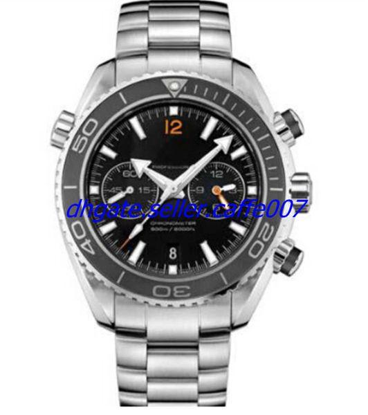 2018 New Luxury WATCH Stainless steel strap New Planet Ocean Chronograph Ceramic Bezel 232.30.46.51.01.003 45mm