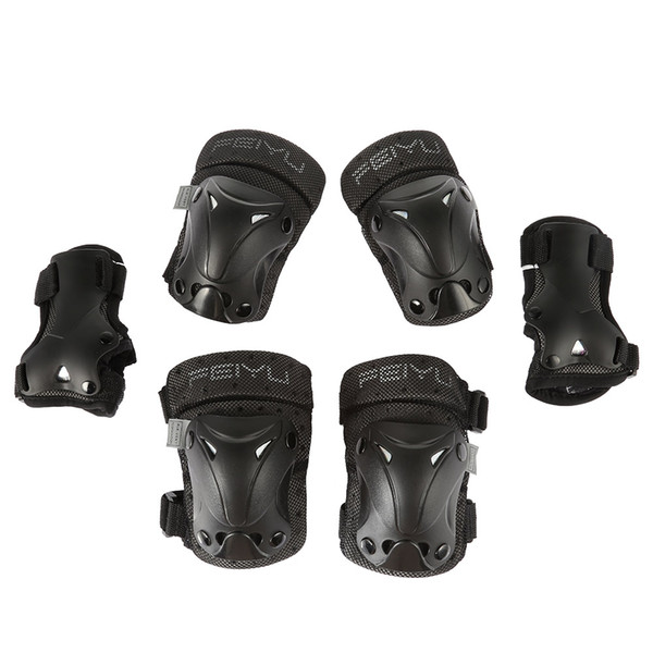 Infantil Adulto 6pcs equipamento de proteção joelho cotovelo Pulso Almofadas guardas Roller Skate