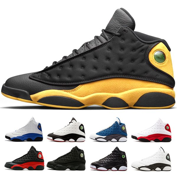 13 13s Mens Basketball Shoes Melo Class of 2003 Phantom Chicago GS Hyper Royal Black Cat Bred Brown Olive Wheat DMP sports sneakers