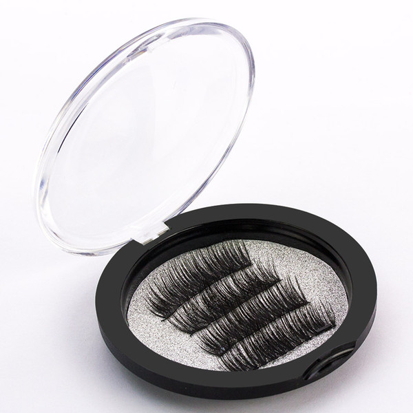 Double Magnetic EyeLashes 3D Mink Reusable False Magnet Eyelashes Extension 3d eyelash extensions magnetic eyelashes makeup
